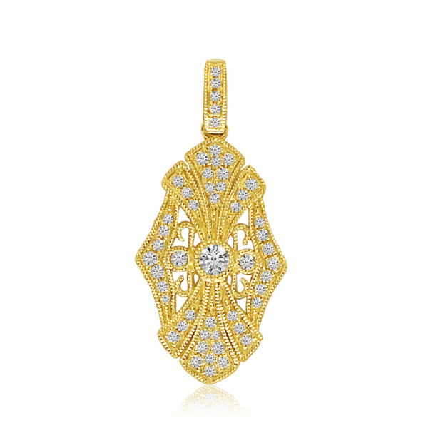 Diamond Pendant  by Color Merchants
